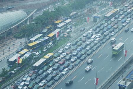 7月18号的国贸上午9点的交通状况
