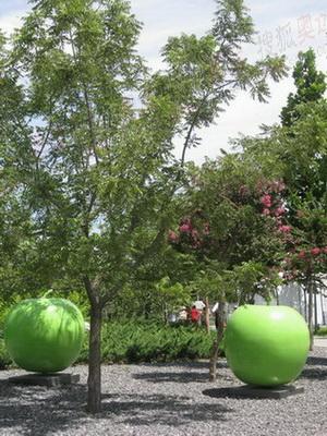 奥林匹克公园内的雕塑