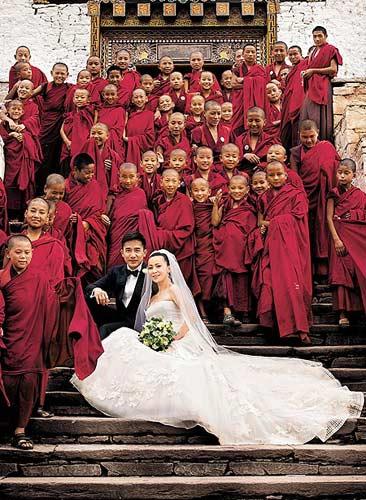 梁朝伟和刘嘉玲结婚