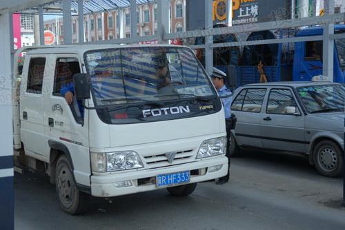外地车辆进京安检