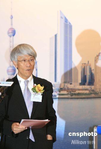 资料图:图为香港金融管理局总裁任志刚在仪式上致辞。 中新社发 张勤 摄