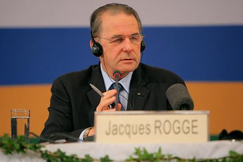 现任国际奥委会主席罗格