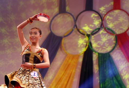 北服评出青年奥运大使 志愿者口号