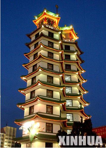 郑州名片:二七塔