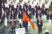 """中国军团奥运礼仪装备首度亮相""""国旗色""""养眼"""