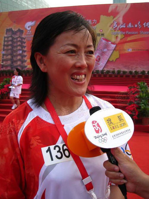郑州体育局长刘东:为郑州体育自豪 为奥运加油