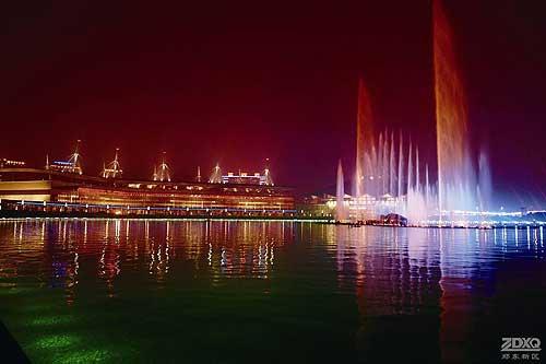 郑东新区音乐喷泉