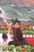 组图:安阳站起跑仪式 武术表演展示中原文化