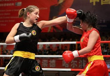 女子52 公斤级黎为凤战胜利踢斯亚-特络布利兹