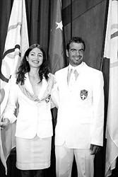 希腊队奥运服装