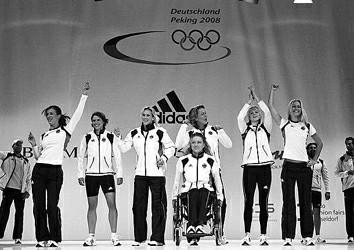 德国队奥运服装