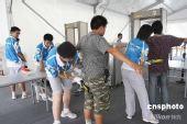 北京地铁奥运支线载客试运营安检严格(图)