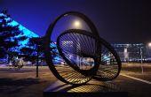 组图:奥运场馆及相关设施扮靓北京之夜