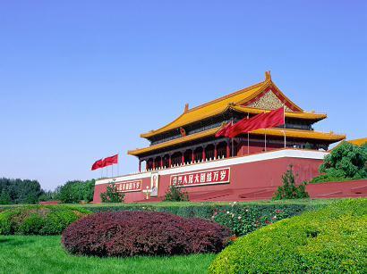 北京名胜古迹-天安门(图)