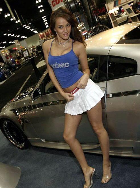 欧美汽车名模散发性感魅力 组图 搜狐汽车高清图片