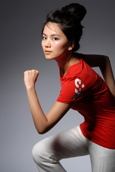 曹曦文支持奥运