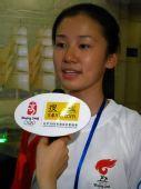 组图:采访天津火炬手奥林匹克青年营营员葛艺文