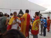 图文:开幕式第二次彩排 西班牙观众也来助阵