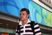 图文:德国跳水队低调抵京 十米台冠军克莱因