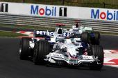 图文:F1匈牙利大奖赛正赛 海德菲尔德在比赛