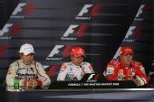 图文:F1匈牙利大奖赛正赛 赛后新闻发布会