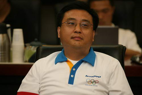 联想火炬手微软公司全球资深副总裁张亚勤接受采访
