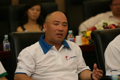 联想火炬手英特尔副总裁兼中国大区总经理杨叙接受记者采访