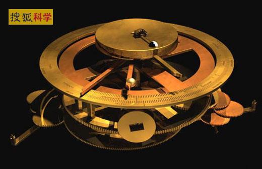 科学家复原安梯基齐拉机器的齿轮盘