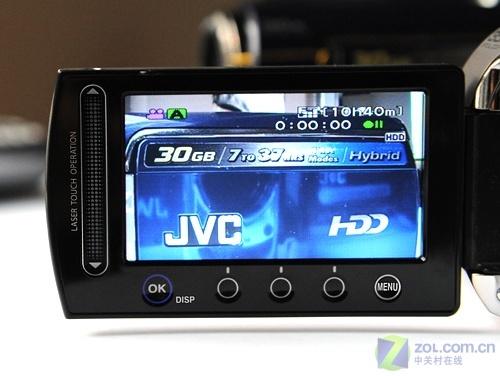 30G容量35X光变 JVC硬盘摄像机MG330降价