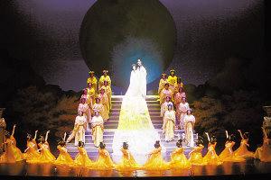 歌剧《杨贵妃》演出片断。姚 玉摄