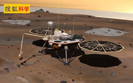凤凰号着陆车在监测火星大气
