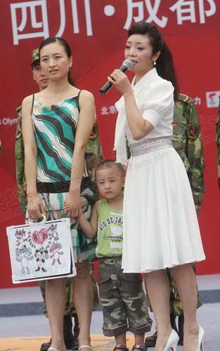 李丹阳演唱《舍不得你们走》