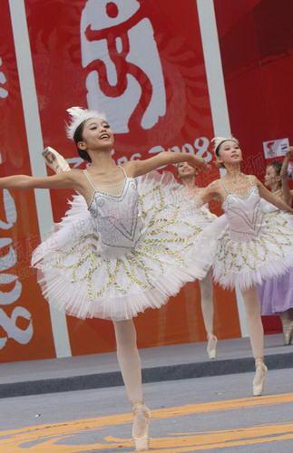 精彩的芭蕾舞表演
