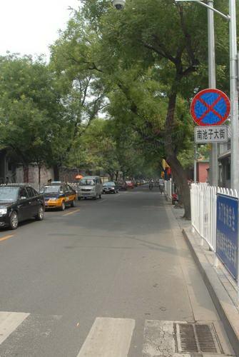 南池子大街由南向北