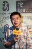 图文:搜狐奥运欢迎酒会 龚宇签名留念