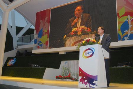 三星CEO李润雨先生为OR@S开馆仪式致辞