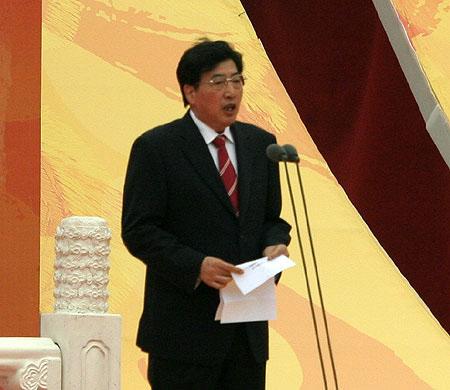北京市委副书记,北京市市长郭金龙致辞