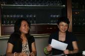 图文:搜狐奥运欢迎酒会 著名作家、学者李银河