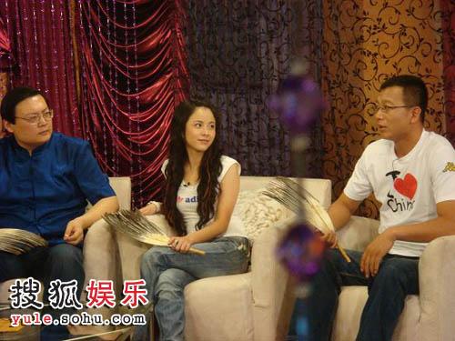 三位军师:著名主持人梁洪达、杨若兮、评论员潮东