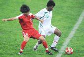 图文:朝鲜1-0尼日利亚 宋贞仙抢位