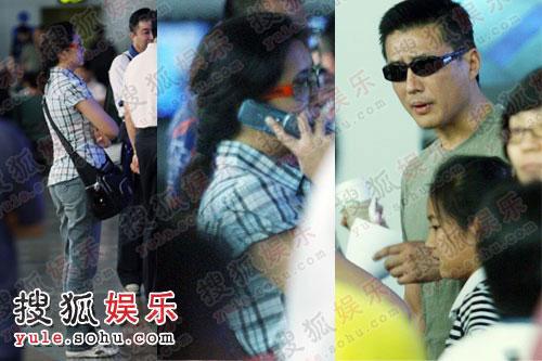江珊高曙光一家重聚北京的画面很是温馨