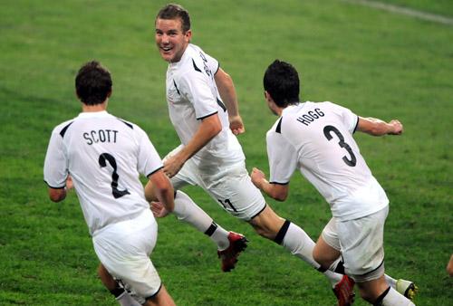 图文:[奥运会]中国国奥1-1新西兰 意外领先