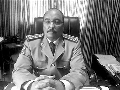 政变领导人阿齐兹的资料照片。 新华社/法新