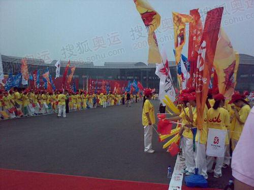 北京亦庄等待传递的胜景