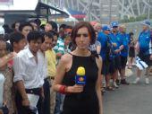 组图:北京奥运会开幕日 媒体大战提前上演