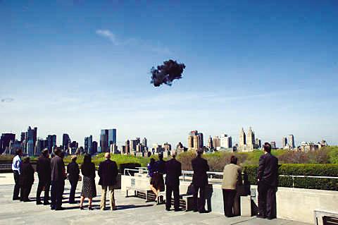 《晴天黑云》 2006年 大都会博物馆 美国