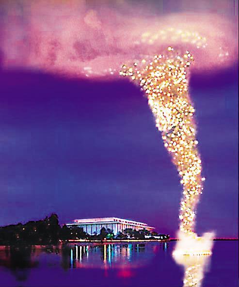 《龙卷风:为华盛顿中国文化节作的爆破计划》 2005年