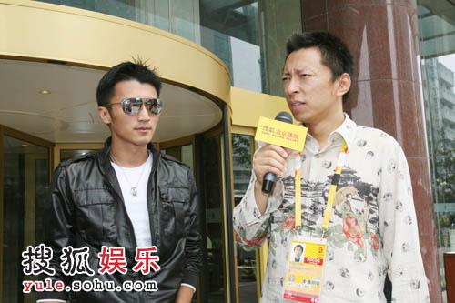 奥运官网首席记者张朝阳先生专访谢霆锋