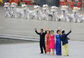 图文:第29届奥运会即将开幕 几位主持人齐亮相