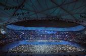 图文:北京奥运会开幕 开幕式现场精彩绝伦无比